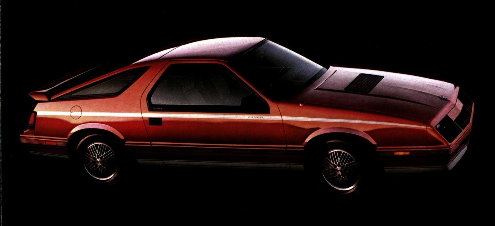1984 1985 Chrysler Laser Hot Ride Snaxtime
