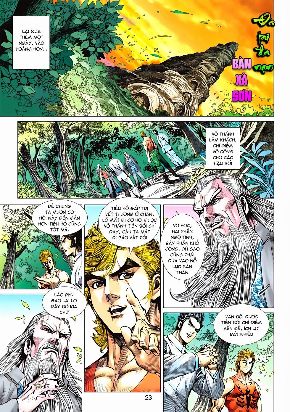 Tân Tác Long Hổ Môn chap 595 - Trang 23