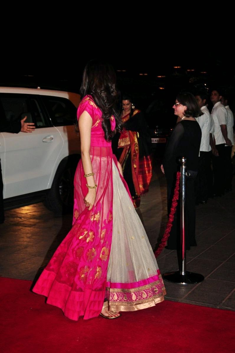 Bollywood Beauties at Arpita Khan wedding - Sister of Salman Khan