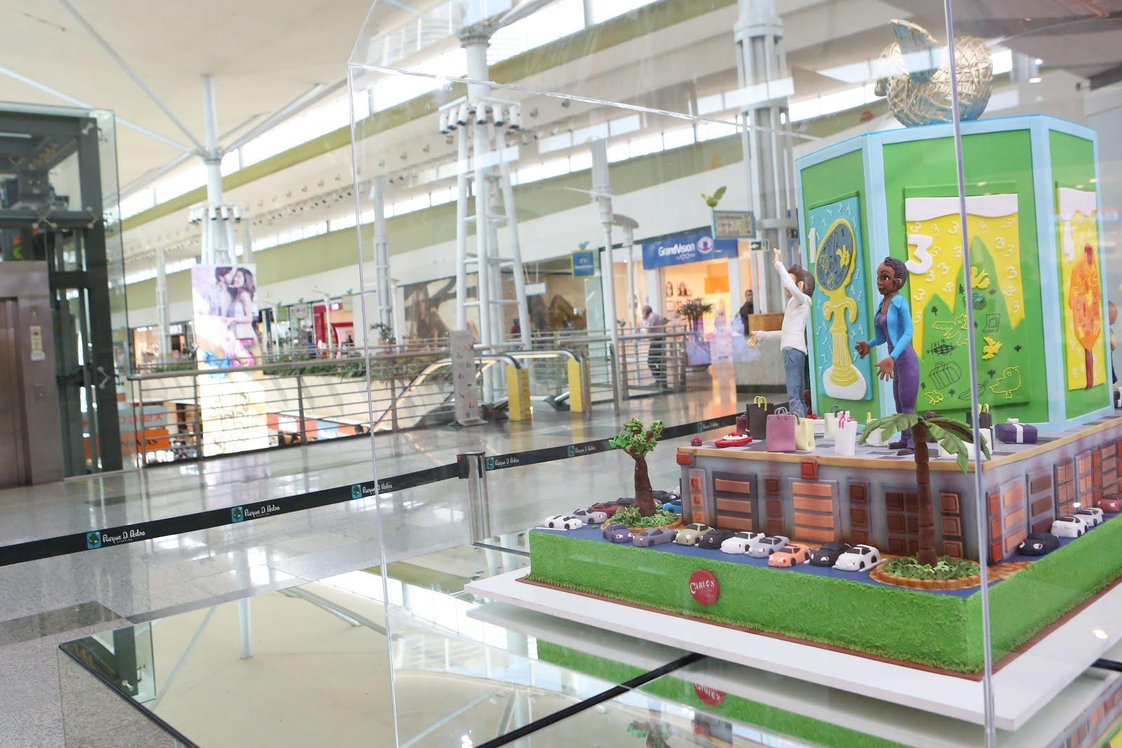 Parque D. Pedro Shopping faz 15 anos e celebra data com bolo gigante ... 0f4a015114