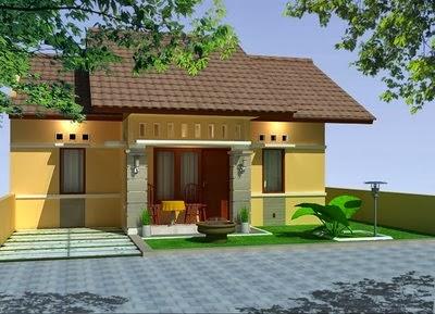 gambar desain eksterior rumah minimalis 1 lantai sederhana