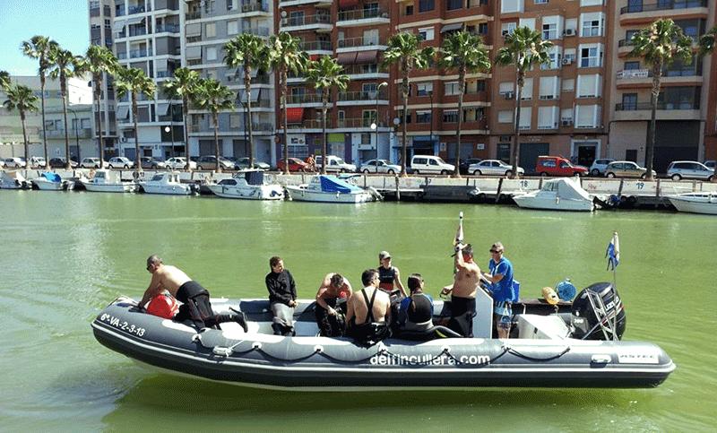 Inmersión en Cullera