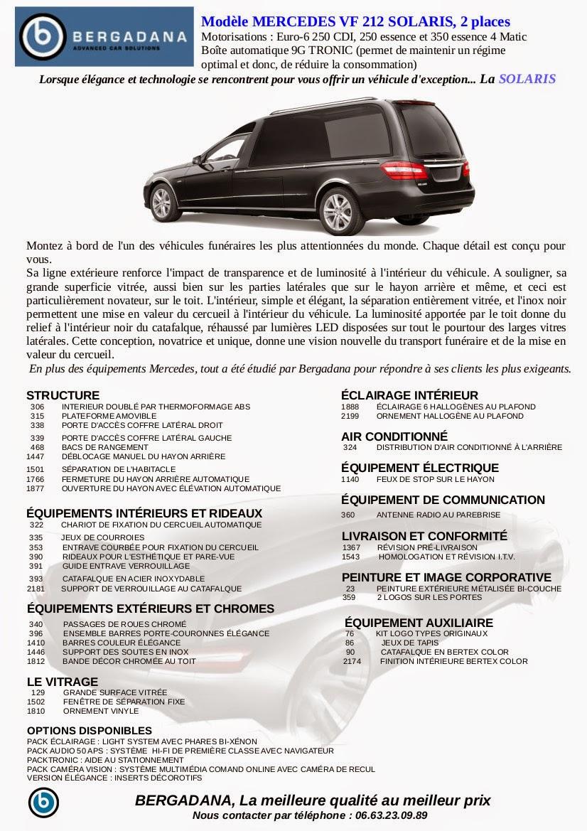 Corbillard limousine SOLARIS