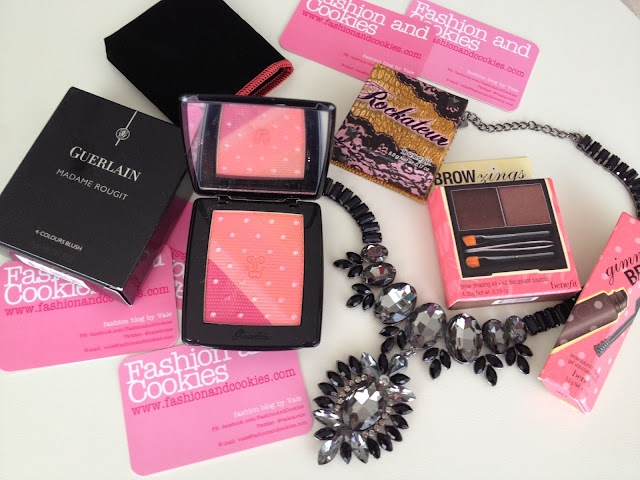 Sephora haul, Fashion and Cookies, fashion blog, Guerlain Madame Rougit blush