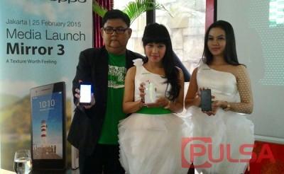 OPPO Mirror 3 Resmi Meluncur di Indonesia, Ini Dia Harganya