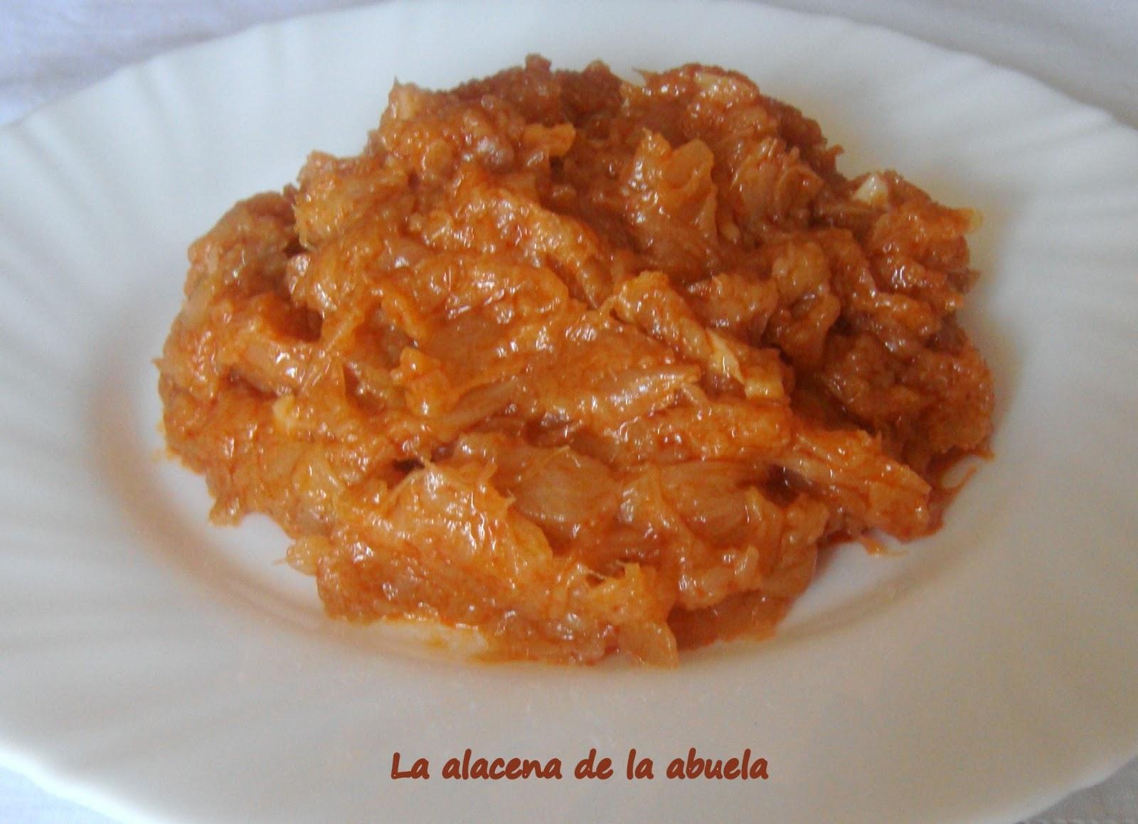 La alacena de la abuela carmen coles esparrag s for Cocina casera de la abuela