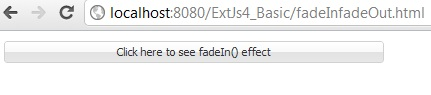 extjs fadein fadeout example