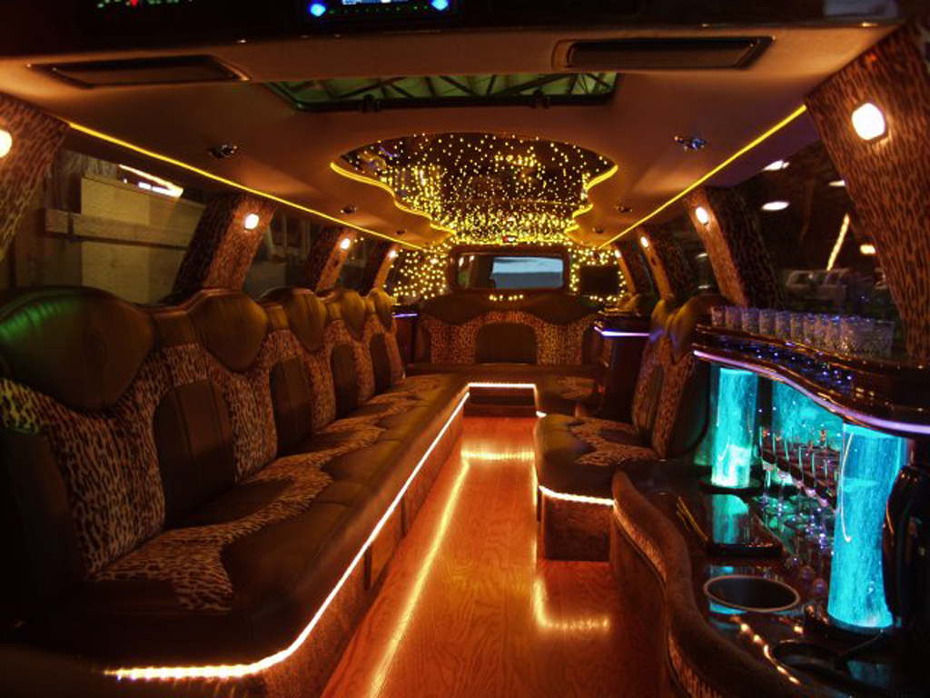 wallpaper hummer limo interiors