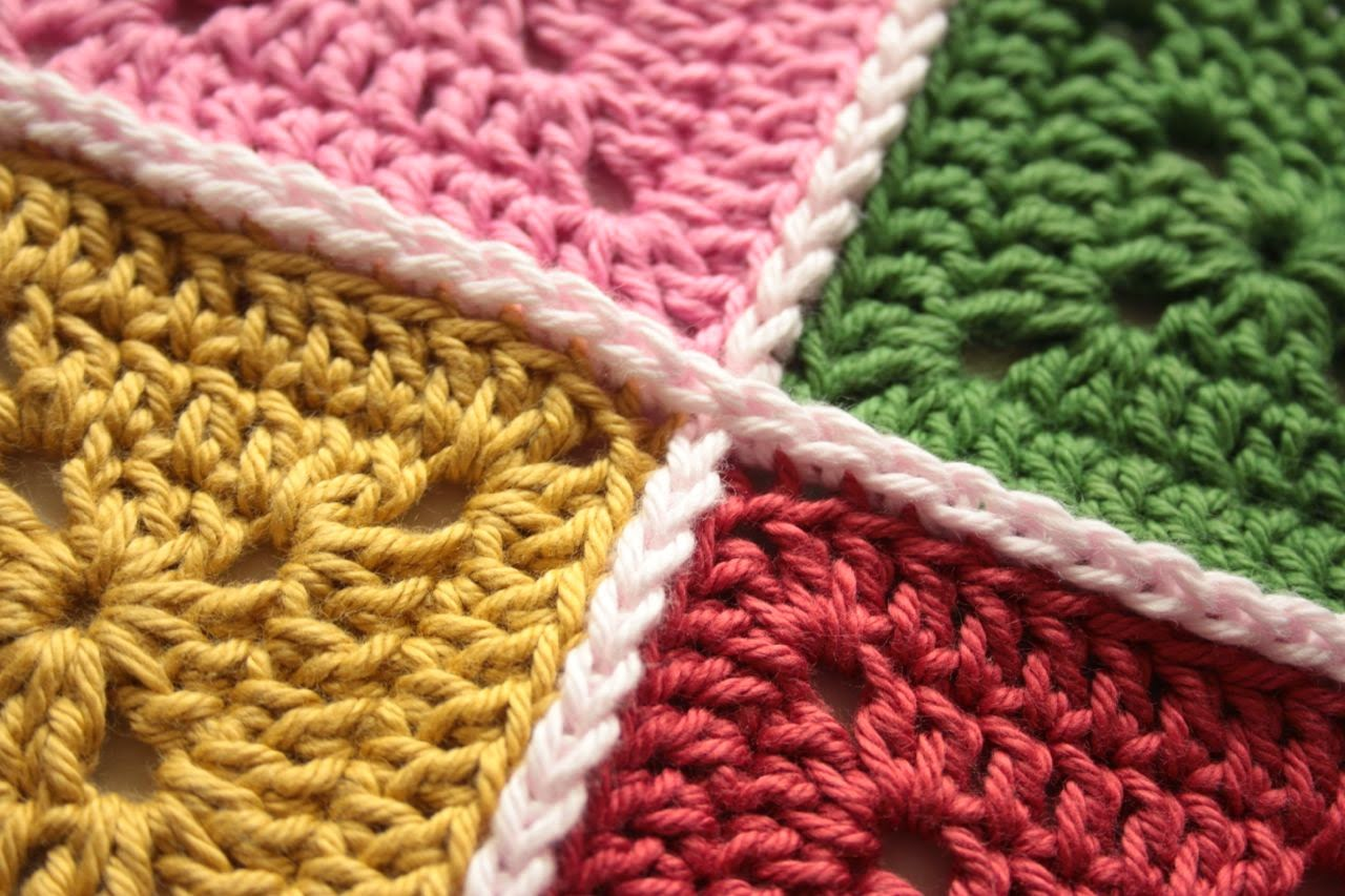 Crochet Join : Crochet Corner: Crochet Joining