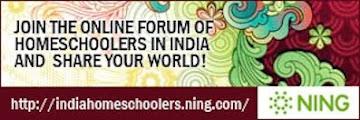 Unschoolers/ Homeschoolers India