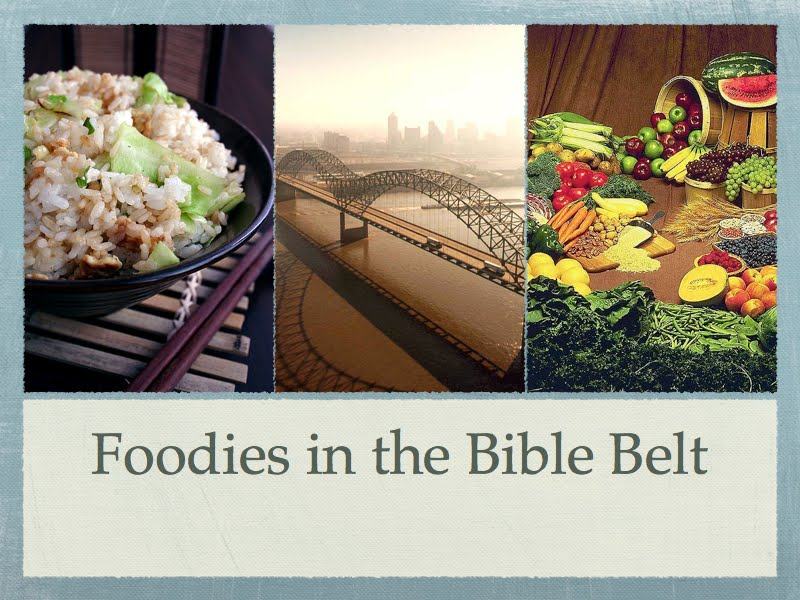 Foodies in the Bible Belt