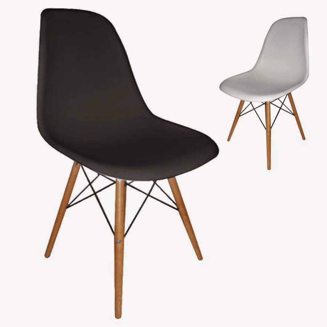 wooden metal legs  chair eames for kitchen living room dining room office