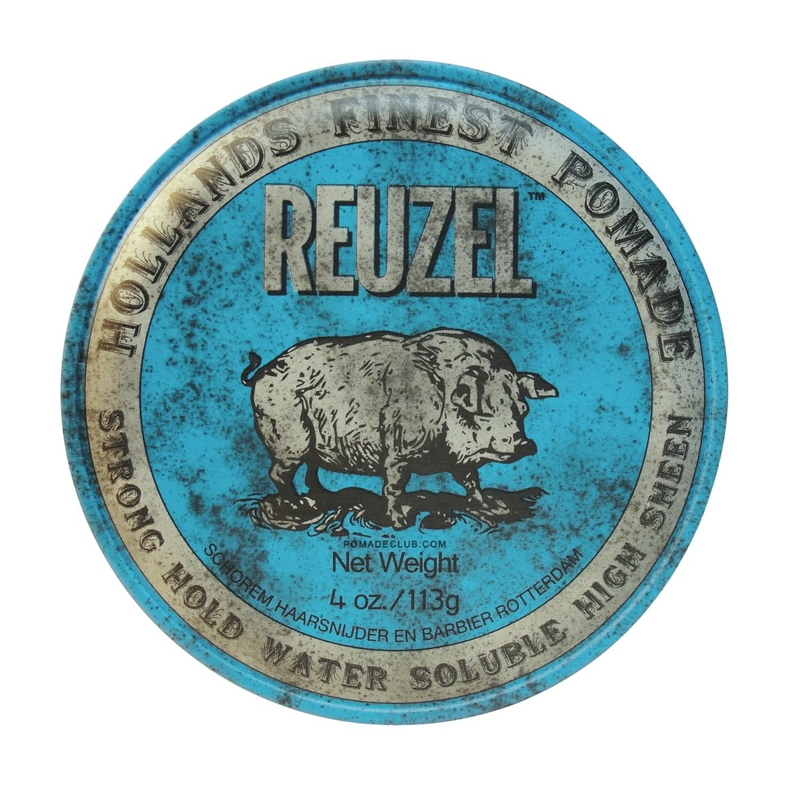Reuzel Blue Strong Hold High Sheen Pomade Toar Ampamp Roby And Tnr Heavy Duty Free Sisir Original