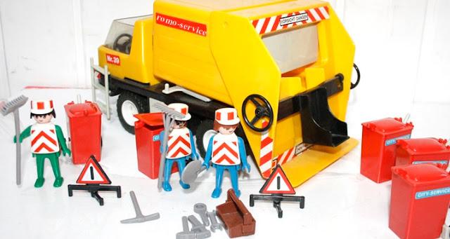 playmobil camion poubelle romo-service