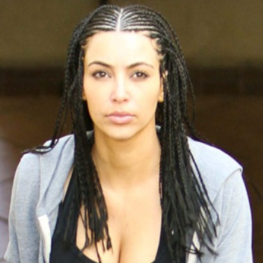 kim kardashian wedding hairstyle