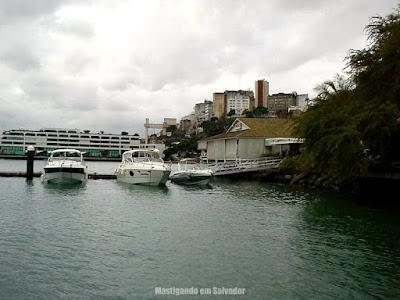 Bahia Marina: Vista do Elevador Lacerda