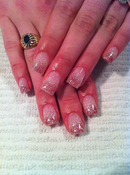 acrylic extensions and custom glitz haze-Pedicure-Gel-Nails-Polish-Manicure-LED-Nails-Acrylic-Nails-Nail-Art