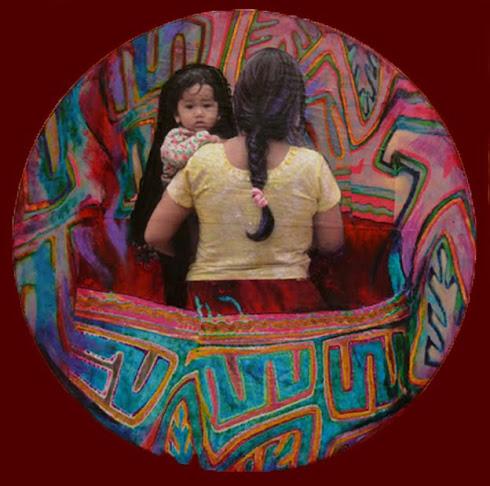 Entre telas - Mandala