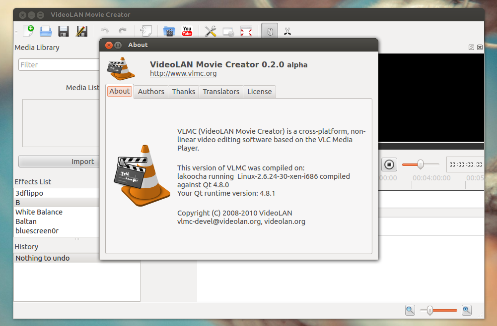 Vlmc Open Source Video Editor Created By Videolan Team