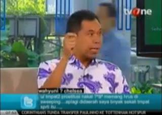 Jubir FPI Munarman Siram Sosiolog UI Thamrin Amagola Saat Diskusi di TV One