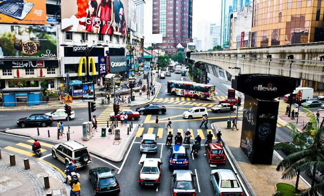 Bukit Bintang Malaysia Walkway