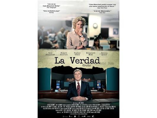 Concurso 'La verdad (Truth)': Os invitamos al preestreno de la película en Madrid