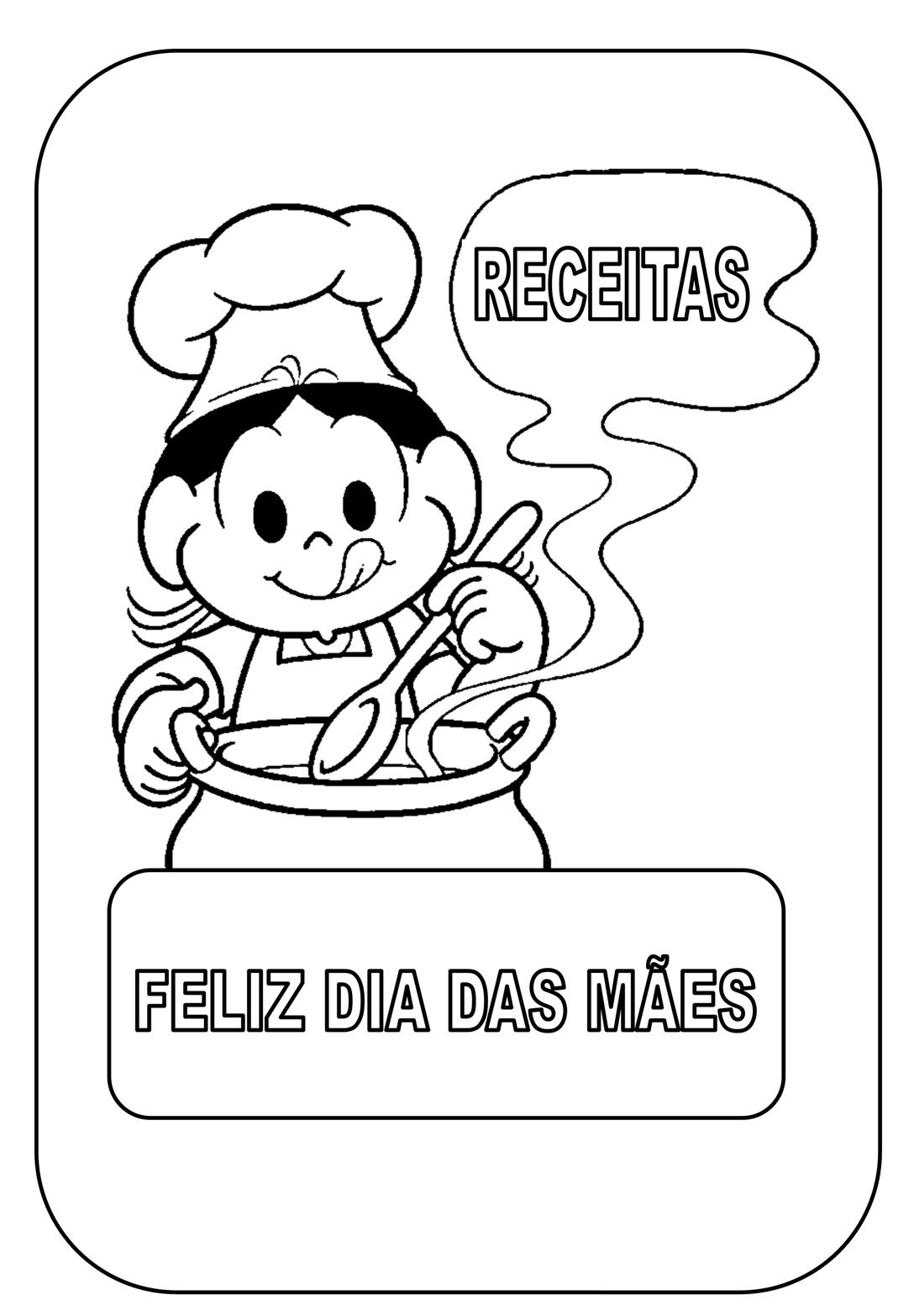 Livro de receitas - Dia das mães