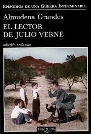Portada del libro El lector de Julio Verne, de Almudena Grandes