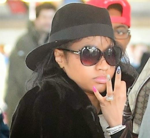 Wow You Need To See Nicki Minaj Without Makeup And Weave Aww What Was She Thinking Xperia With Ngozi Lovelyn