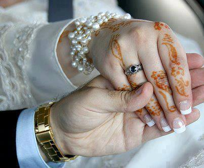 punjabi couple holding hands