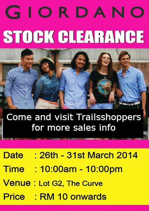 Giordano Stock Clearance Sale The Curve Damansara Selangor