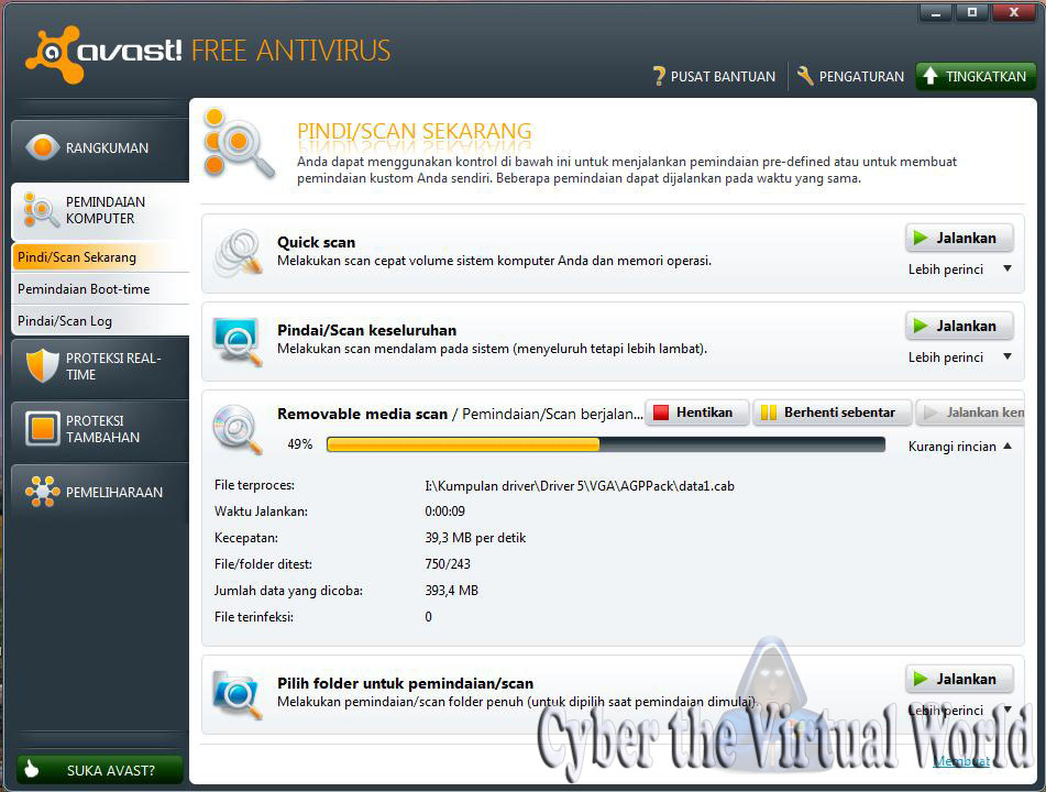 avast  antivirus 6.0 with license key till 2038 ( exclusive )