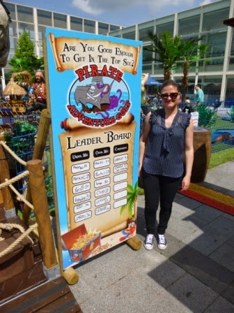 Pirate Adventure Golf at thecentre:MK in Milton Keynes