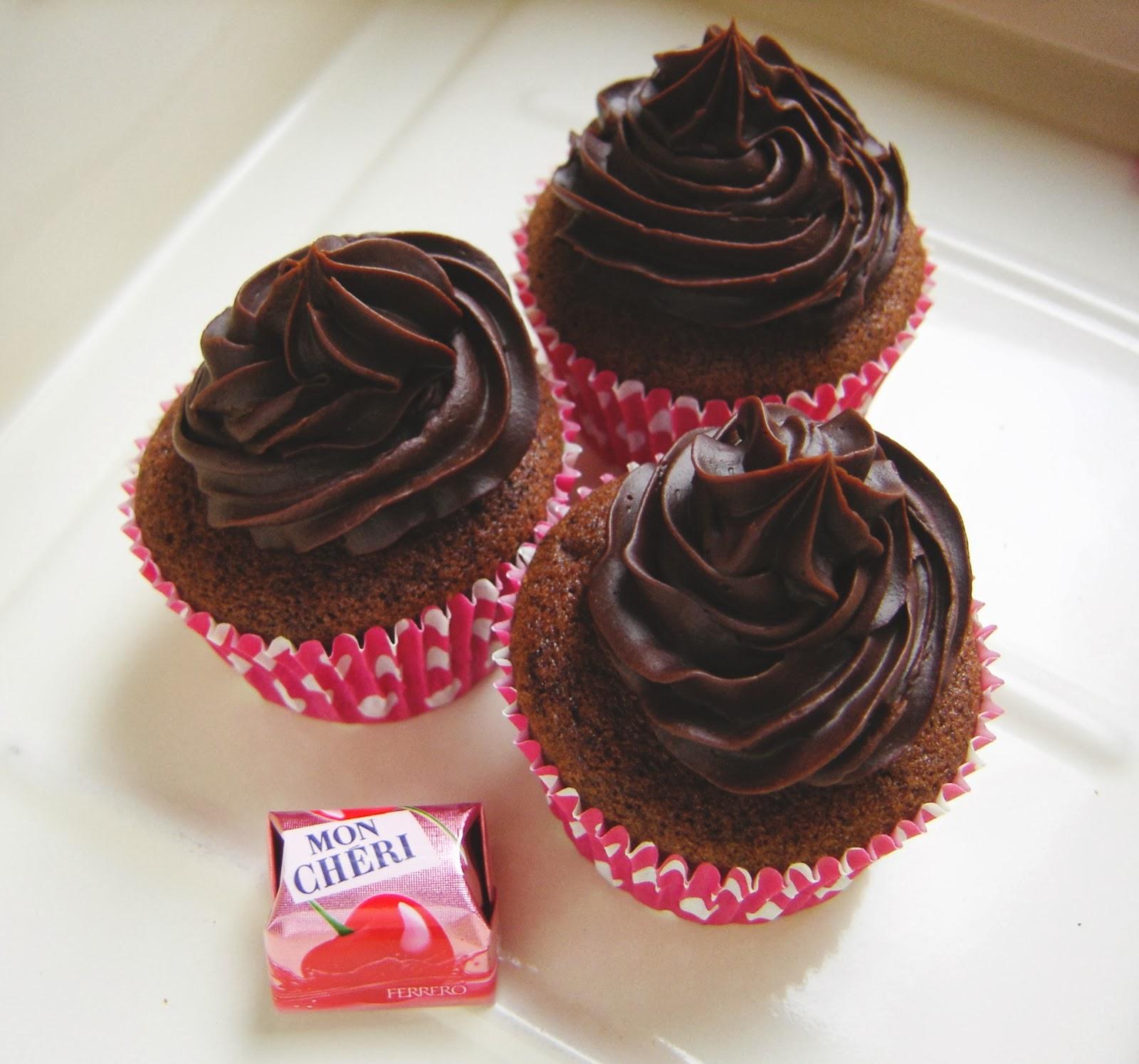 Recept Mon Cherie cupcakes Annekoendigitaal