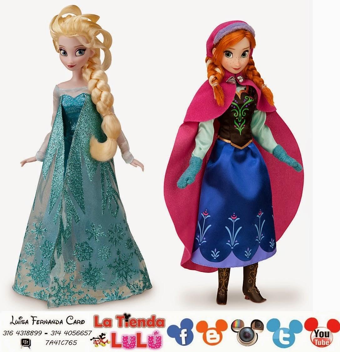 De Disney Elsa Muñecas Frozen Y clasicas Lulú Tienda La Anna HqFOOZ