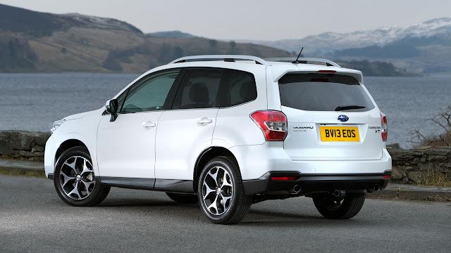 Subaru's all new Forester SUV
