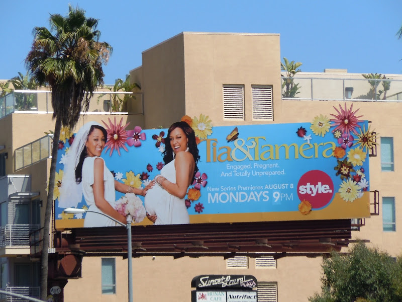 Tia and Tamera billboard