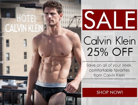 semi annual sale on calvn klein underwear