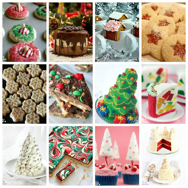 Holiday Dessert, Christmas, crafts, DIY, desserts, 100, mantels, gifts, tablescapes, wreaths