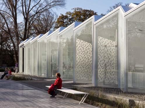 Trung tâm vườn bách thảo Christchurch tạiChristchurch, New Zealand - Công ty Patterson Associates Ltd thiết kế (lọt danh sách công trình Trưng bày).
