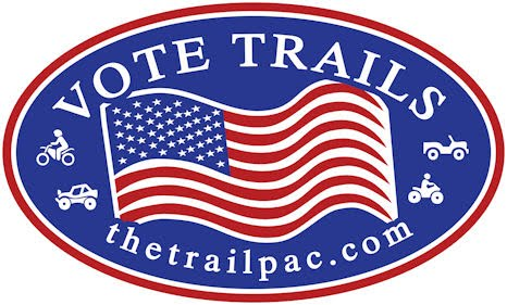 VOTE TRAILS Bumper Sticker