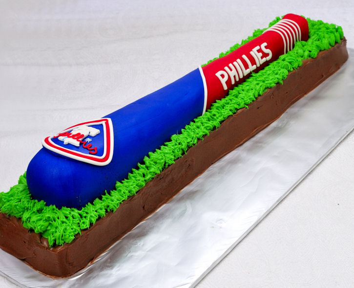 How To Make A Baseball Bat Cake