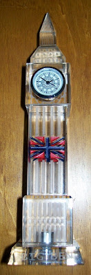 Big Ben ornament, Union Jack,
