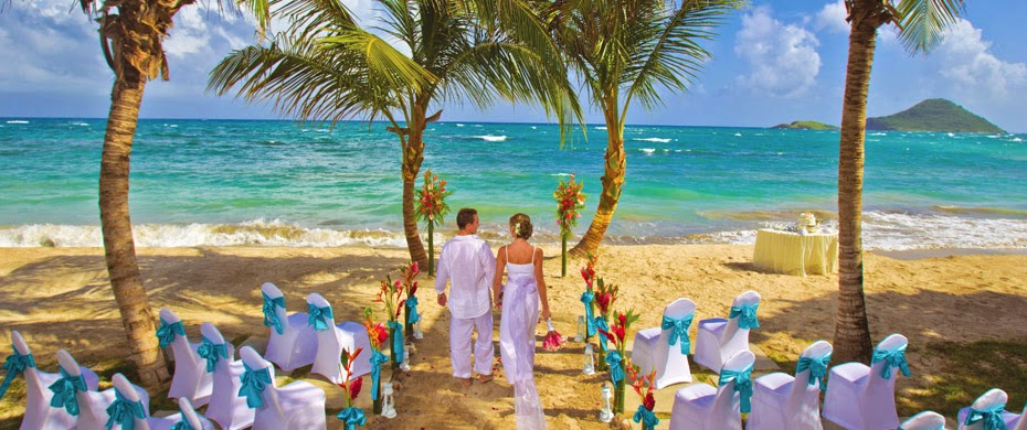 Mariage Caraibes à Sainte Lucie
