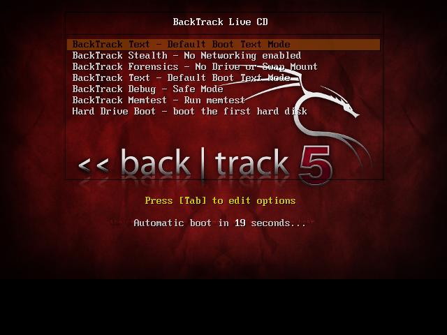 Backtrack 5 R3