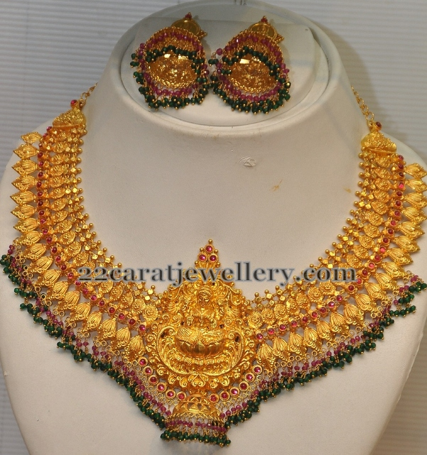 Heavy Traditional Set from GRT Jewellery Designs