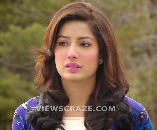 Mehwish Hayat Face Makeup