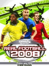 Real Football 2008 Nokia E63 Game