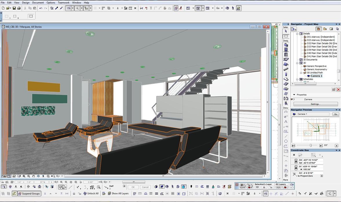 Архикад для дизайна интерьера