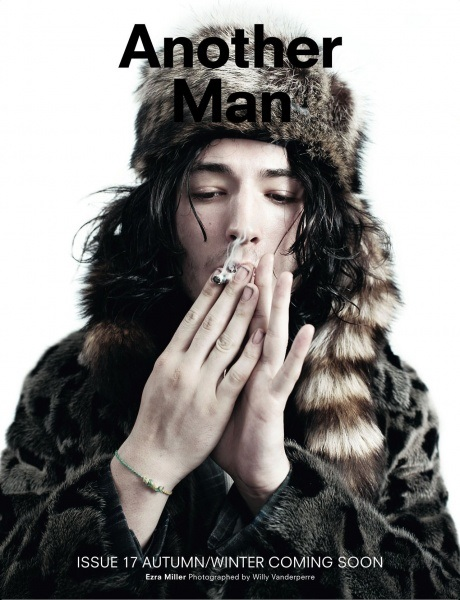 Ezra Miller Another Man Magazine Cover